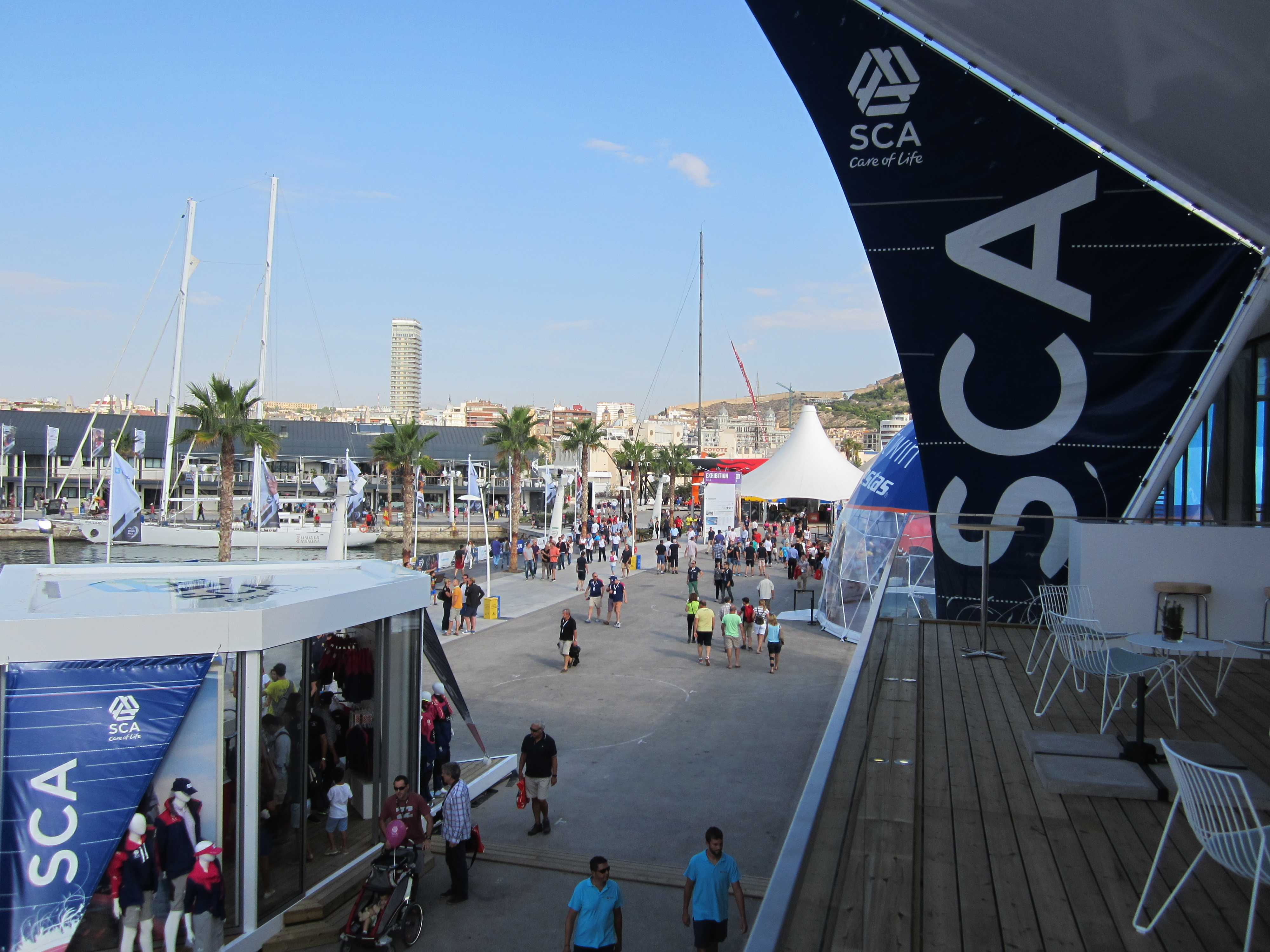 Sponsoring activation of SCA TORK 2014 in Alicante