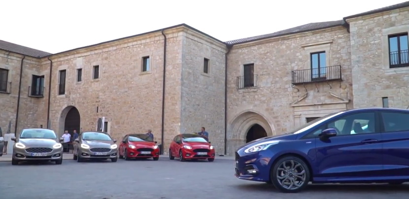 Three events for Ford 2017 in Valladolid
